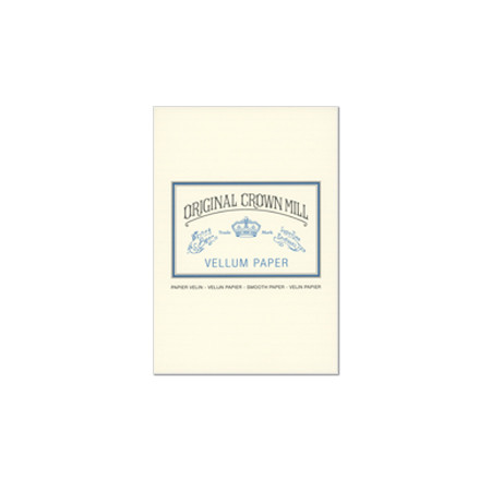 Original Crown Mill Vellum Writing Pad A5