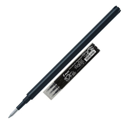 Pilot BLSFR5 Frixion Pen Refill Fine Pack of 3