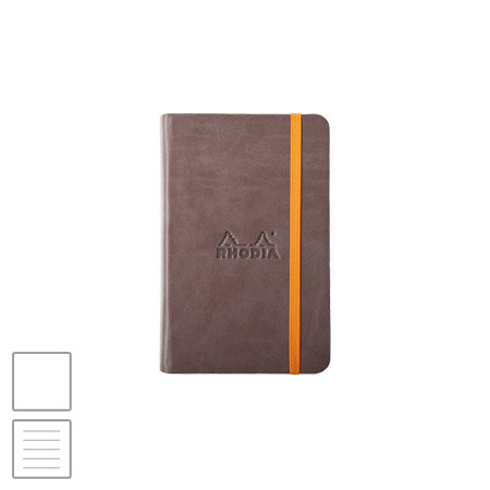 Rhodia Webbie Rhodiarama (90 x 140) Notebook Chocolate