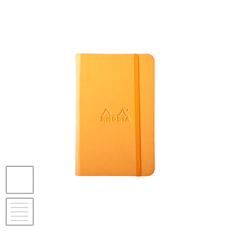 Rhodia Webbie Rhodiarama (90 x 140) Notebook Orange
