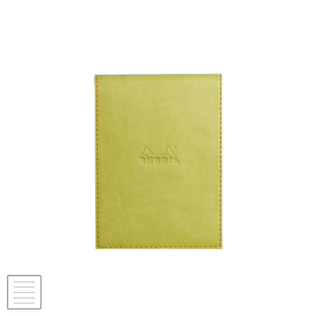 Rhodia Rhodiarama Leatherette Refillable Notepad No.13 (115 x 158) Anise Green