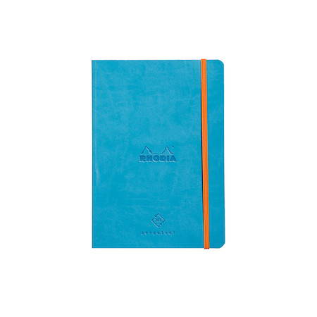 Rhodia Rhodiarama Perpetual Planner A5 Turquoise