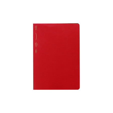 Stalogy 365Days Notebook A6 Red