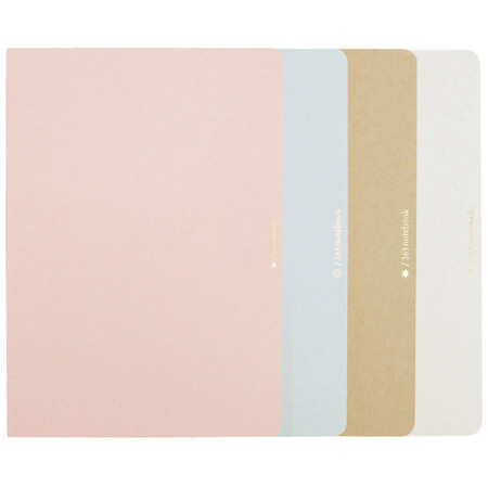 365notebook A5 Softcover Set of 4