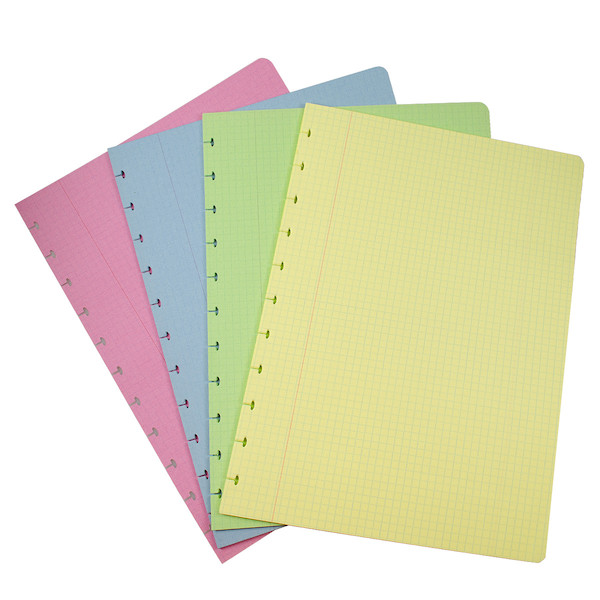 Atoma Notebook Refill Pad A4 Colours