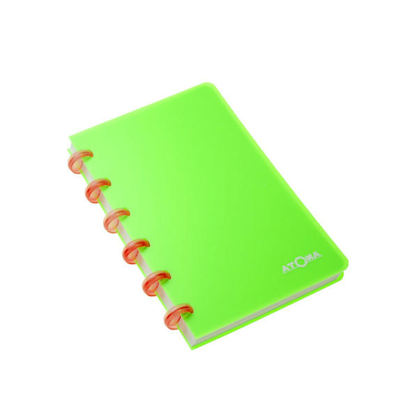 Atoma Disc-Bound Refillable Notebook Neon A6+ Promotion