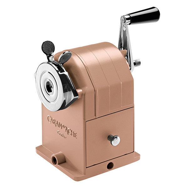 Caran d'Ache Brut Rose Pencil Sharpening Machine