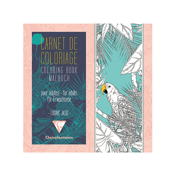 Clairefontaine Advanced Colouring Book Birds