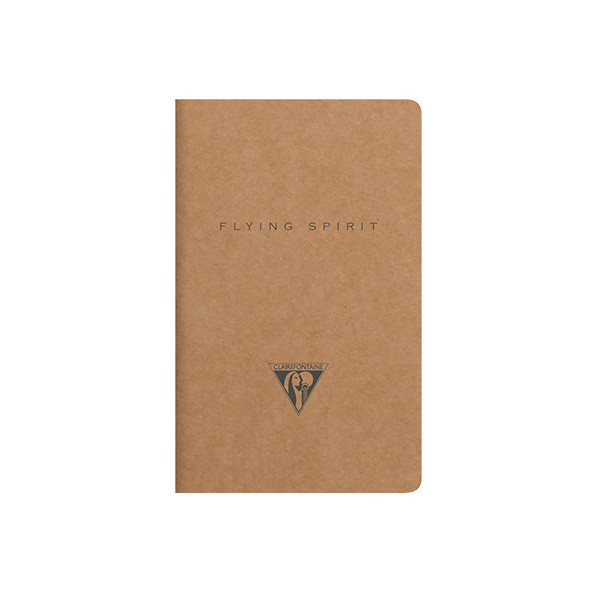 Clairefontaine Flying Spirit Notebook Kraft Cover 75x120