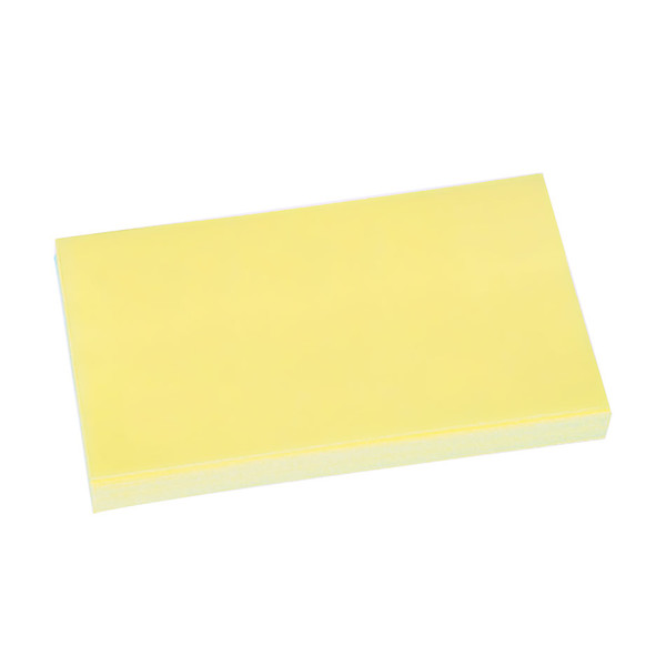 Post-it Recycled Notes Canary Yellow 76x127mm