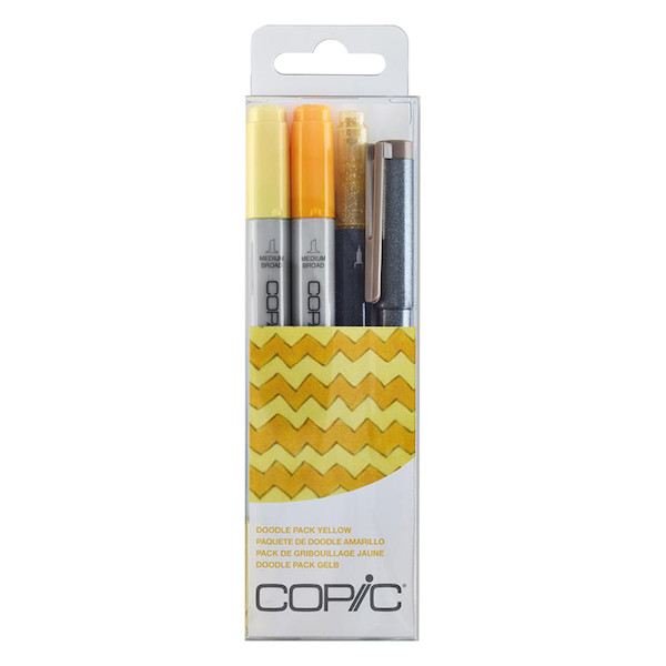 Copic Doodle Pack Red