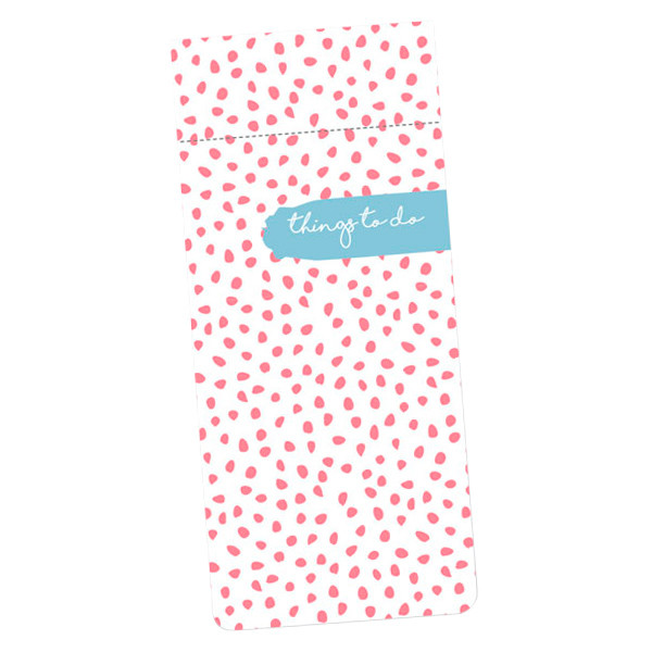 Dotty About Paper Luxury List Pad Pinking Out Loud