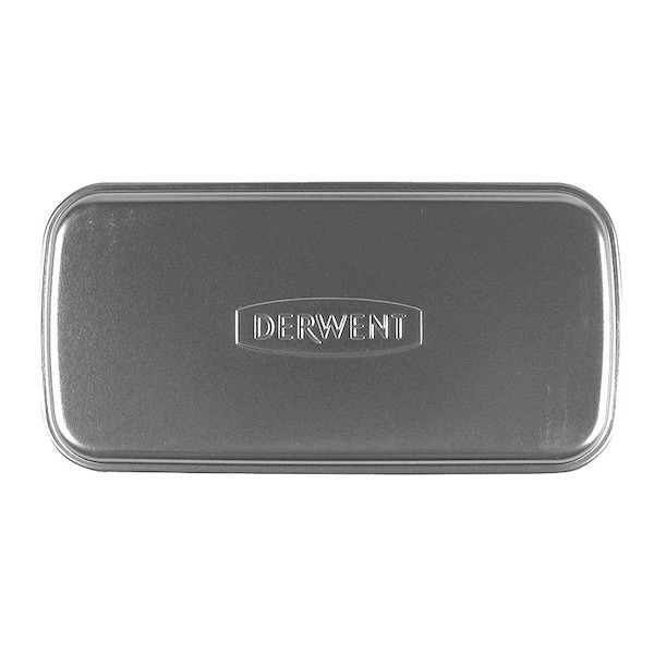 Derwent Pencil Tin Double Layer