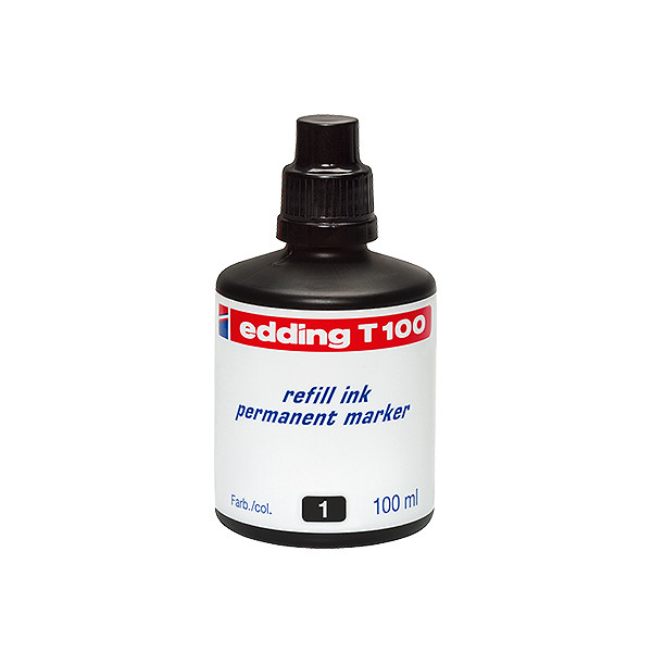 edding T100 Permanent Refill Ink 100ml