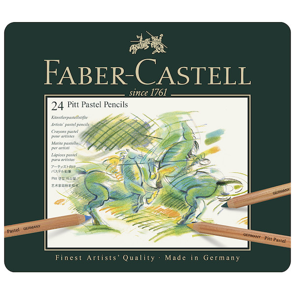 Faber-Castell Pitt Pastel Pencils Set of 24