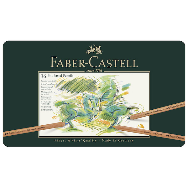 Faber-Castell Pitt Pastel Pencils Set of 36