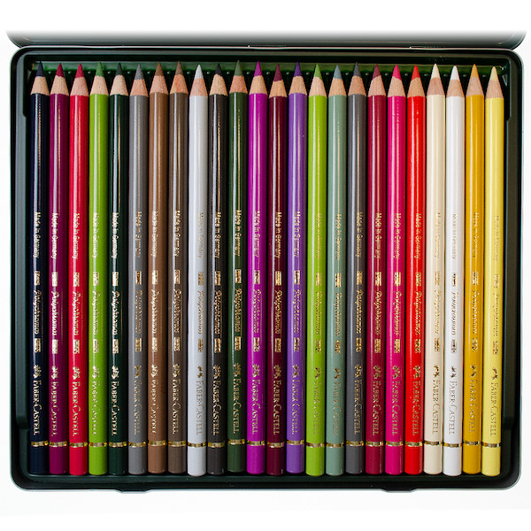 faber-castell polychromos colouring pencil ann swan set of