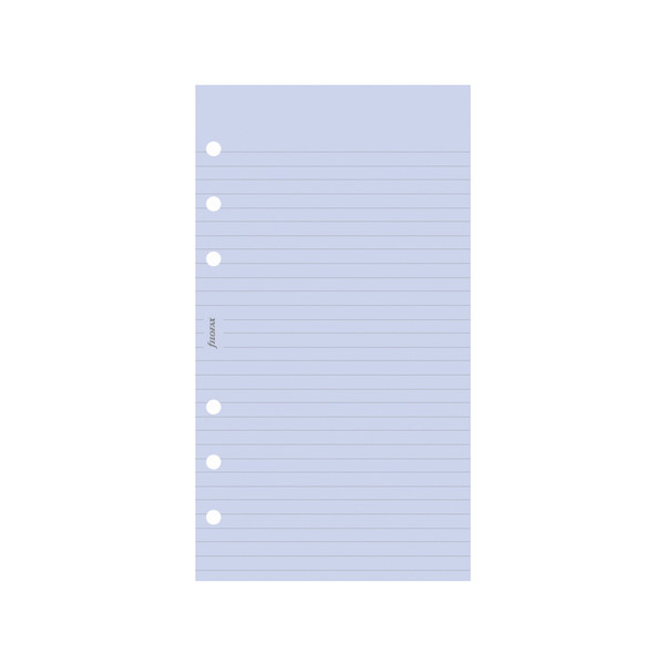 Filofax Notepaper Ruled Lavender