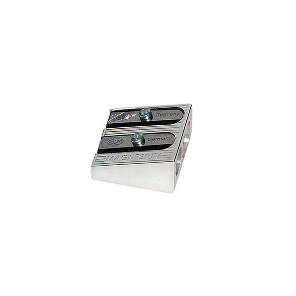KUM Magnesium Wedge Double Hole Sharpener 410