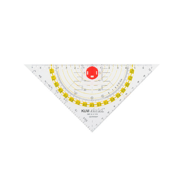 KUM Circlet Compass Triangle 16cm