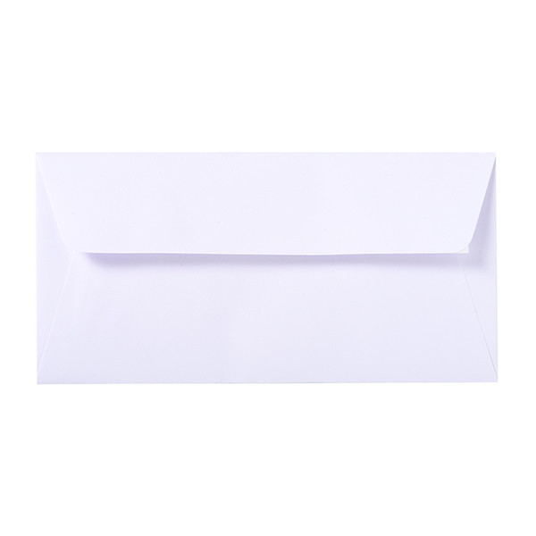 Gummed and Lined White, Lalo 110 x 220 mm Velin de France Envelopes 100 g G