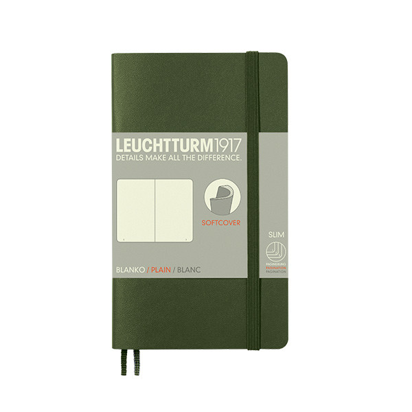 Leuchtturm1917 Softcover Notebook Pocket Army