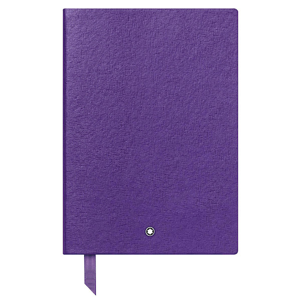 Montblanc Fine Stationery Notebook Purple Lined
