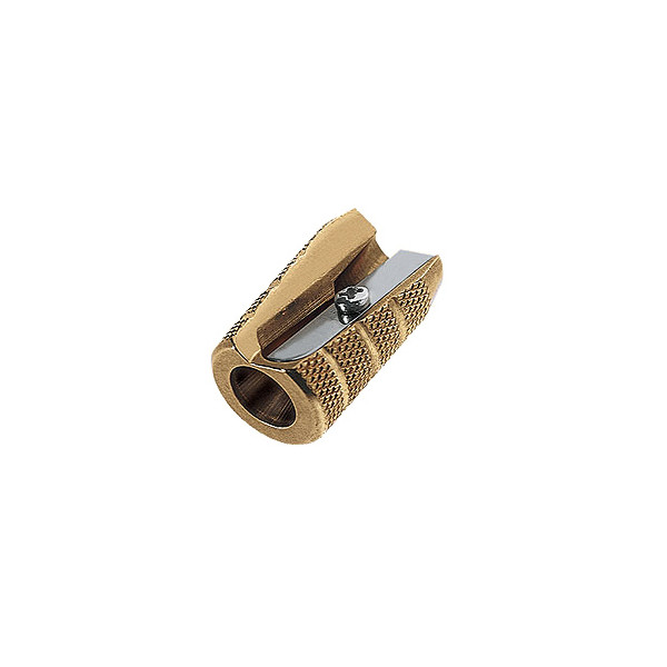 M+R Grenade Single Hole Brass Sharpener
