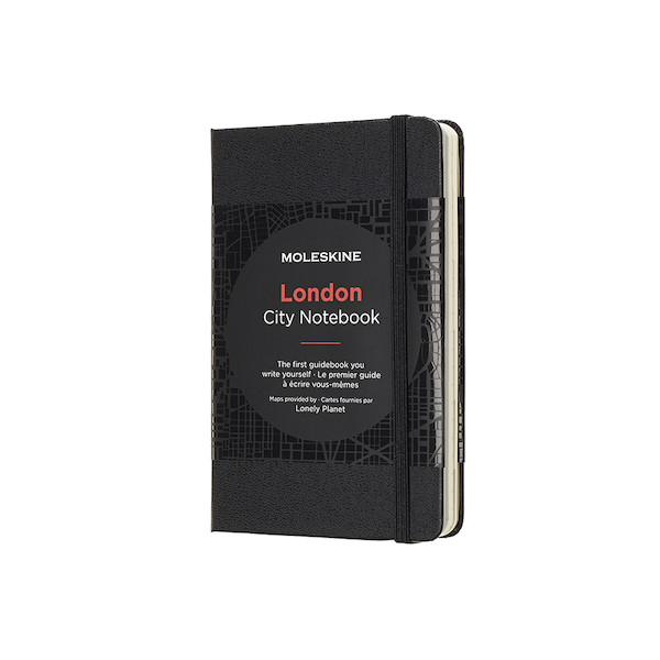 Moleskine Traveller's Collection City Pocket Notebook 90x140 London