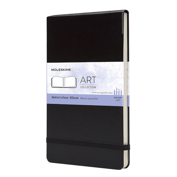 Moleskine Art Plus Watercolour Album Landscape Large 135x210 Black