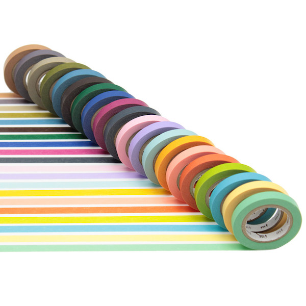 mt Washi Masking Tape Assorted Set of 20