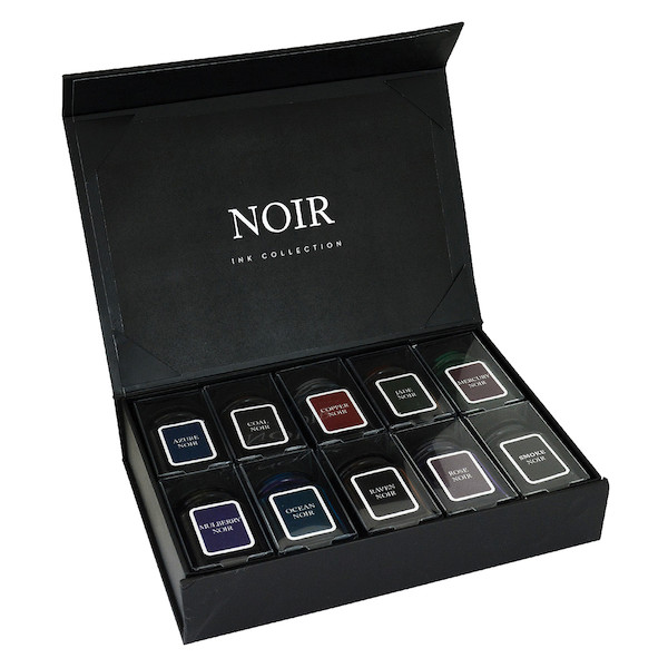 Monteverde Noir Collection 10-Piece Ink Bottle Gift Set