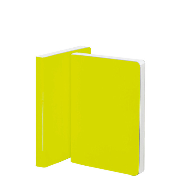 Nuuna Candy S High Gloss Cover Notebook Neon Yellow