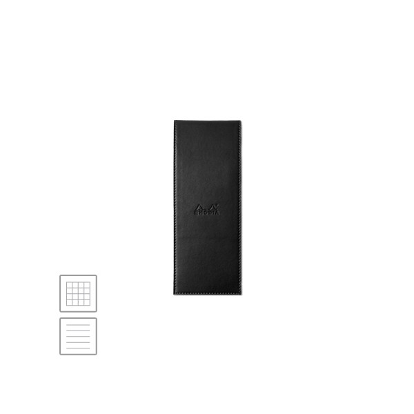 Rhodia ePure Notepad Cover No.8 84 x 220 Black