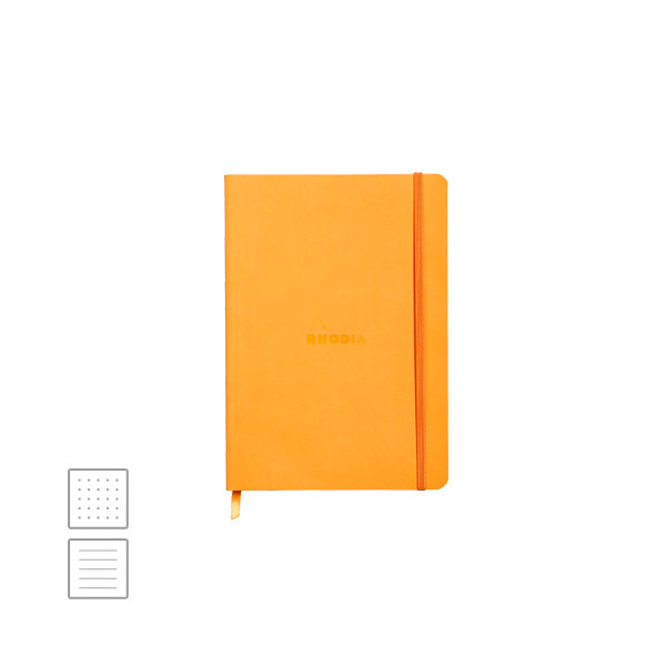 Rhodia Rhodiarama Softcover Notebook A5 (148 x 210) Orange