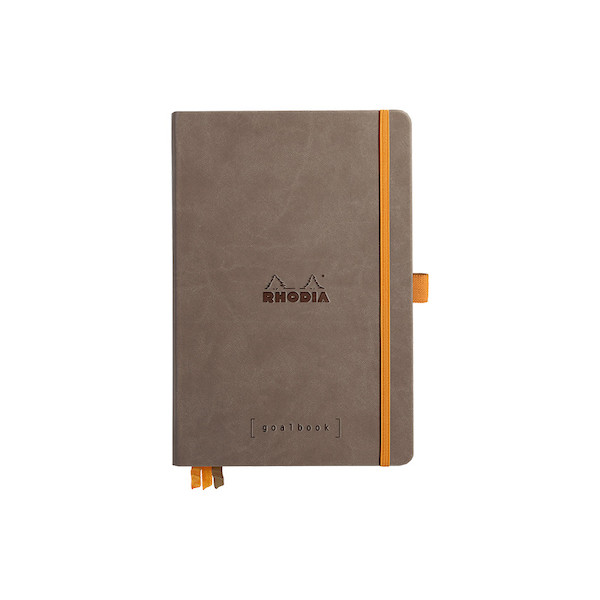 Rhodia Rhodiarama Hardcover Goalbook A5 Chocolate