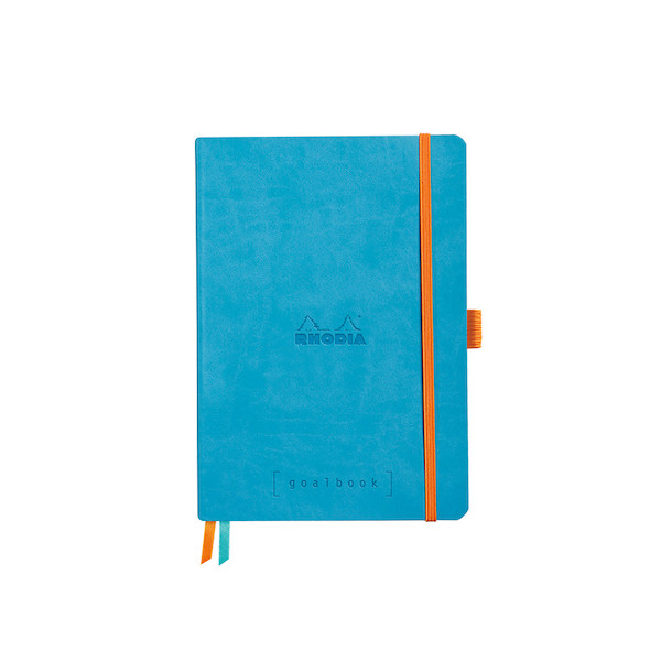 Rhodia Rhodiarama Softcover Goalbook With White Paper A5 Turquoise