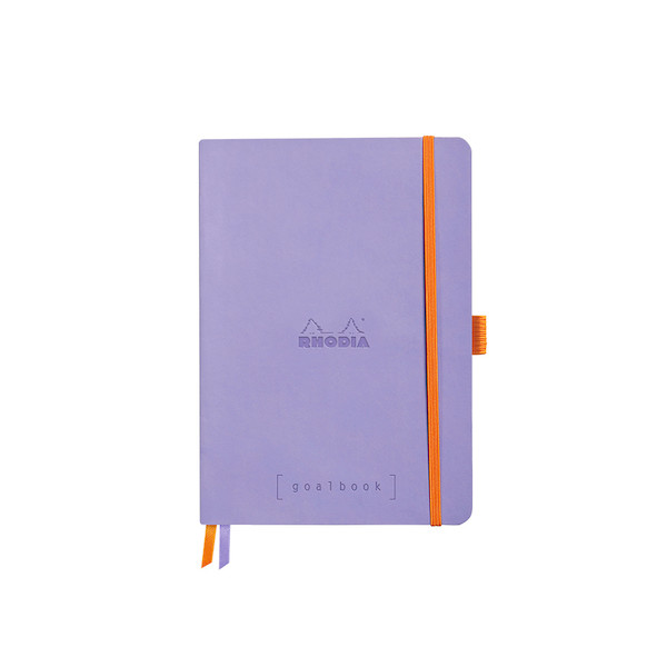 Rhodia Rhodiarama Softcover Goalbook With White Paper A5 Iris