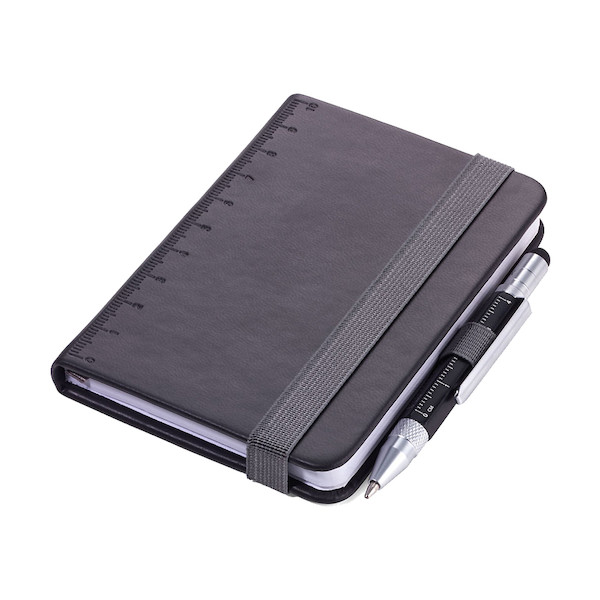 Troika Lilipad Notepad and Liliput Pen Black