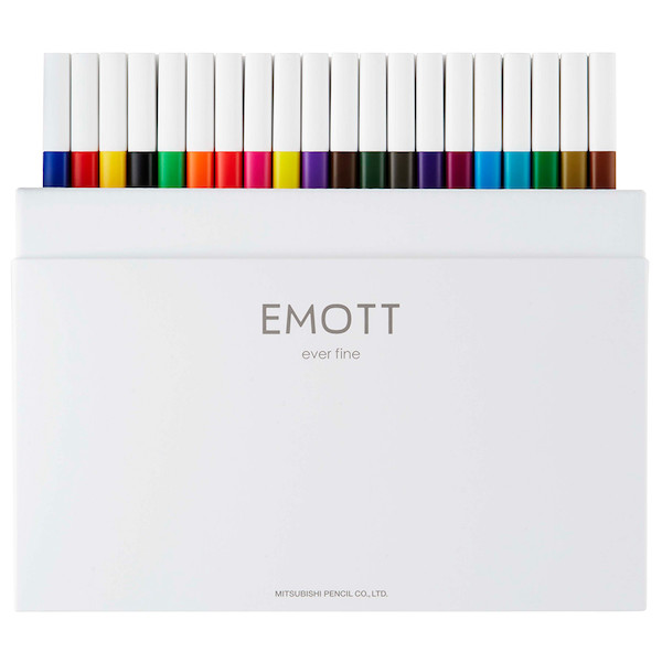 Uni Emott Fineliner Set of 40 Assorted