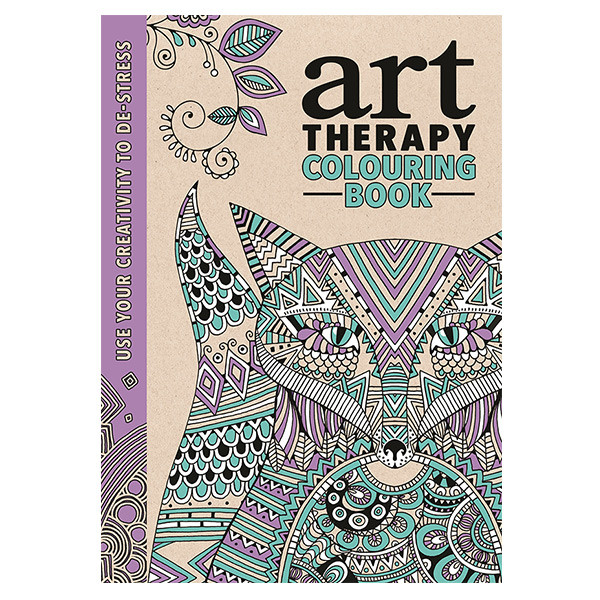 Art Therapy: an Anti-Stress Colouring Book | Cult Pens