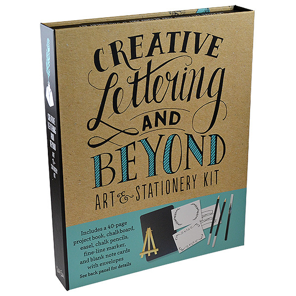 creative lettering and beyond  Creative Lettering and Beyond: Art and Stationery Kit | Cult Pens