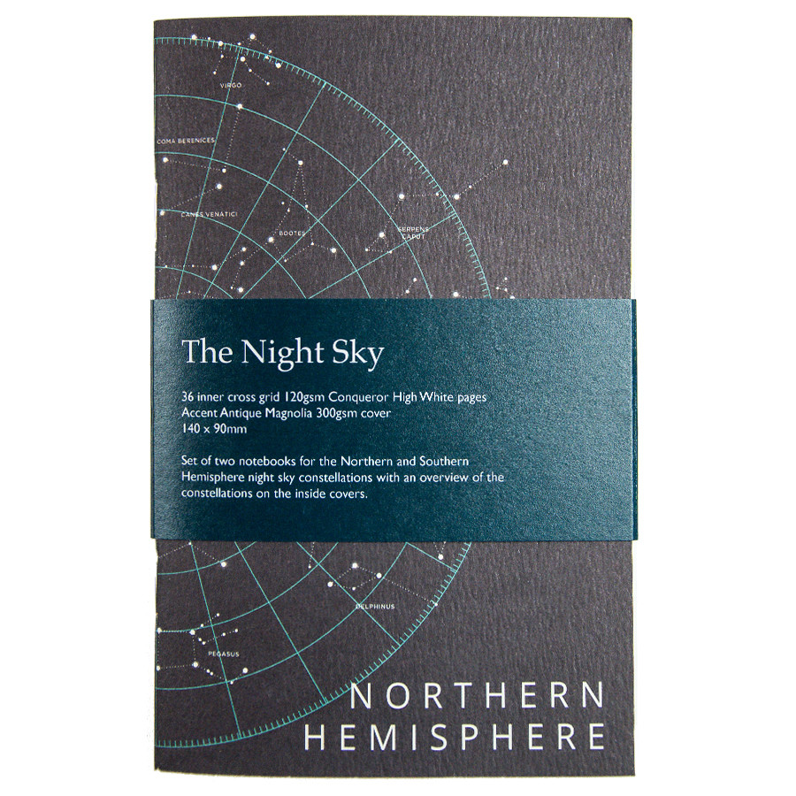 Back Pocket Night Sky Notebooks Set of 2