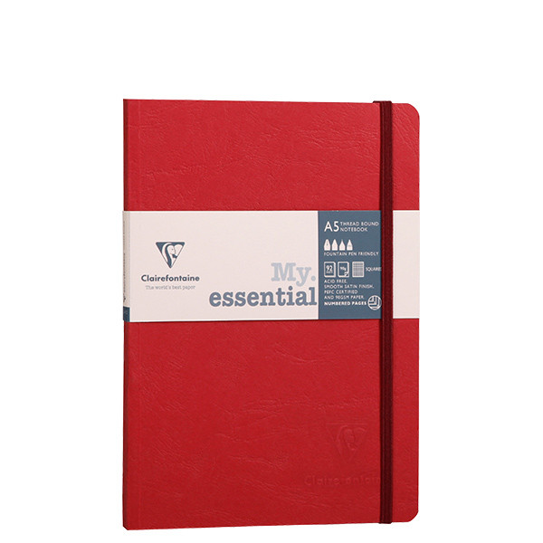 Clairefontaine Age Bag Threadbound Notebook A5