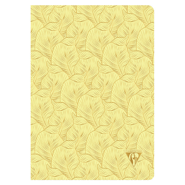 Clairefontaine Neo Deco Sewn Spine Notebook A5 Sulphur Yellow