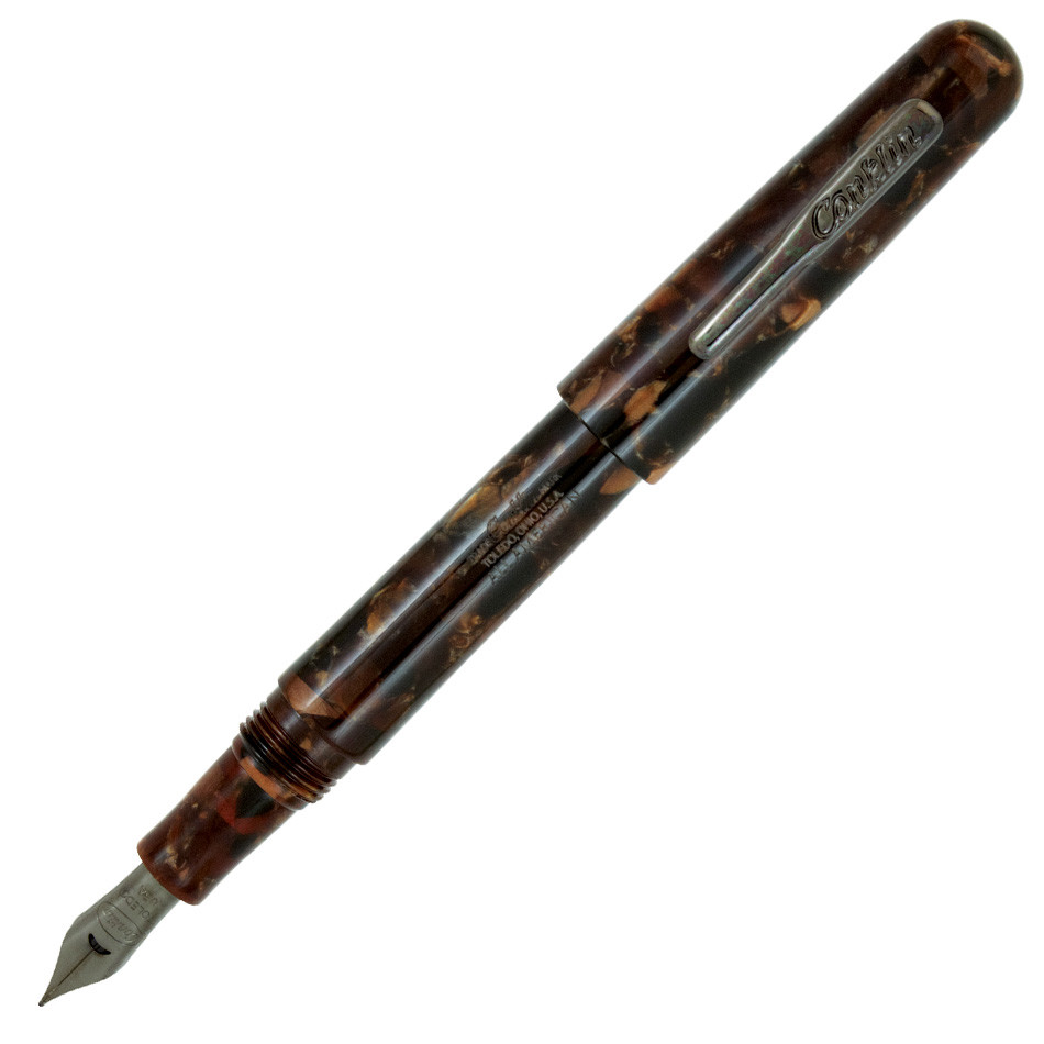 Conklin All American Fountain Pen Brownstone