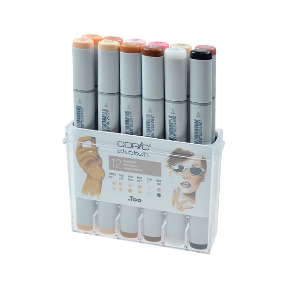 Copic Sketch Marker Pen Skin Set Of 12