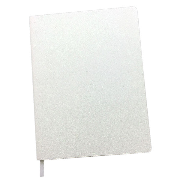 Dotty About Paper Time to Shine Journal White Glitter