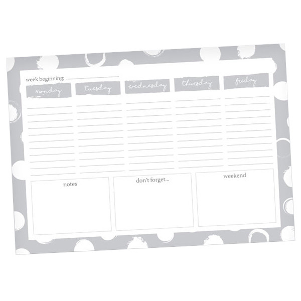 Dotty About Paper Desk Planner Join the Dots
