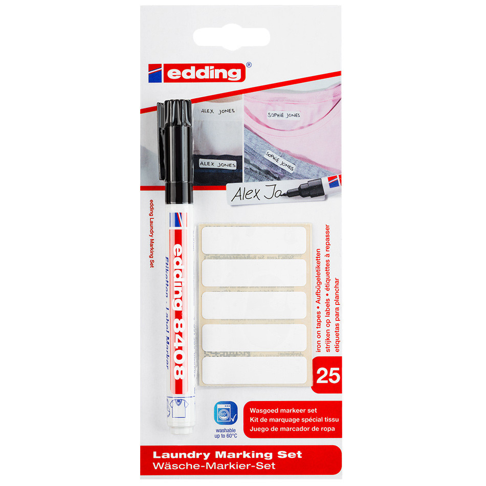 edding 8408 Laundry Marking Set